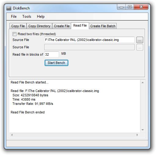 Nodesoft Disk Bench